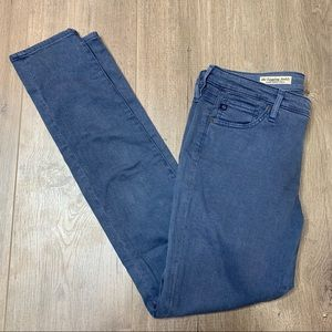 Ag Adriano Goldschmied Pants - AG ADRIANO GOLDSCHMIED | Blue Skinny Ankle Pants